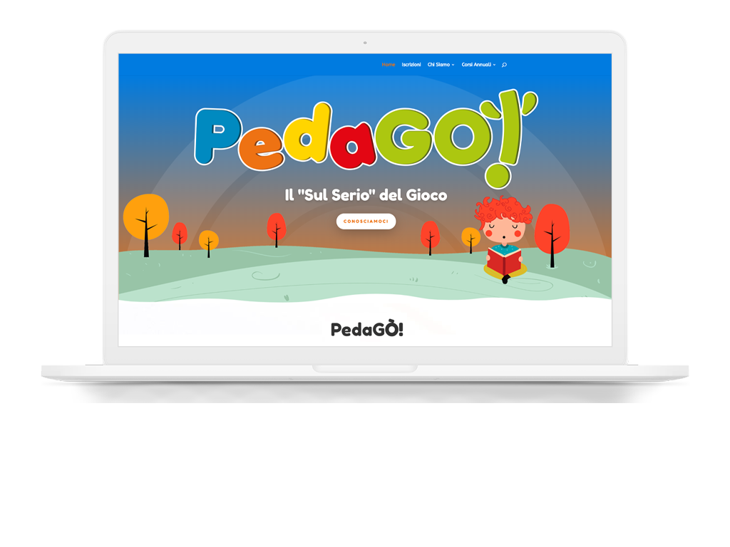PedaGO'! - Web Design - Marco Champier - Graphic and Web Design