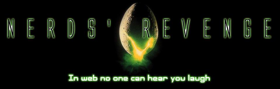 Alien - Header - Nerds' Revenge - Marco Champier - Graphic and Web Design