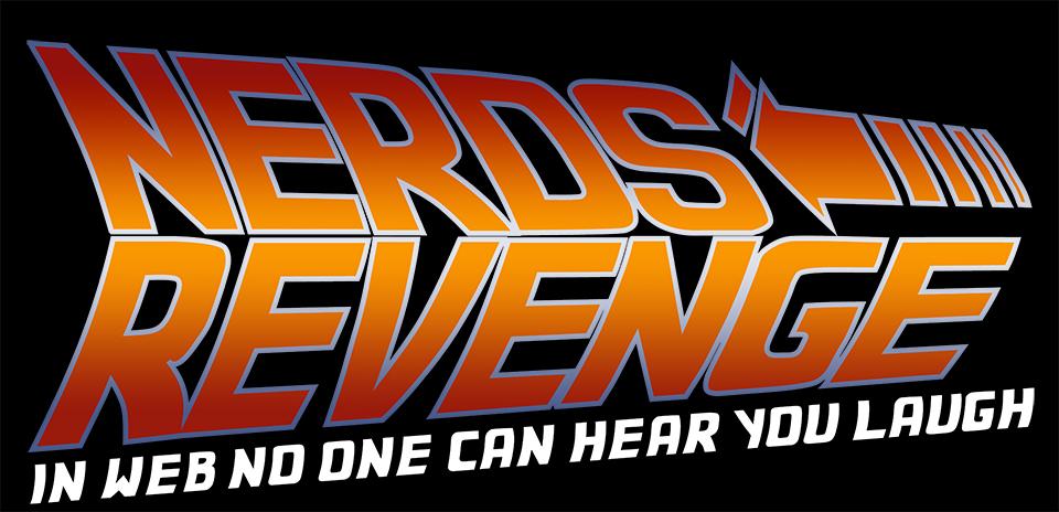 Ritorno al Futuro - Header - Nerds' Revenge - Marco Champier - Graphic and Web Design