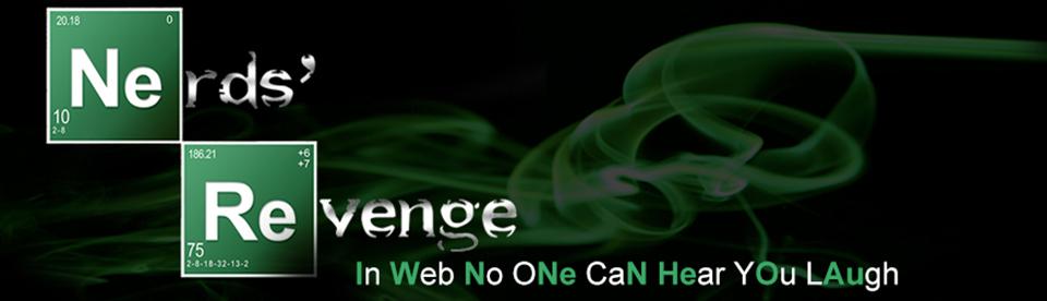 Breaking Bad - Header - Nerds' Revenge - Marco Champier - Graphic and Web Design