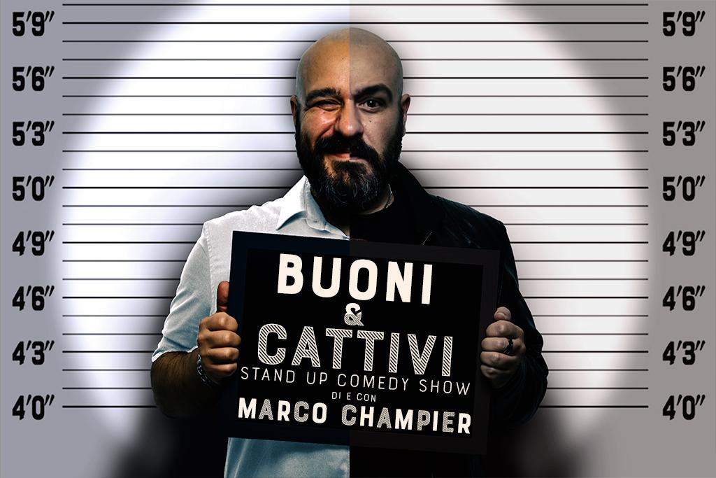 Buoni & Cattivi - Locandina - Marco Champier - Graphic and Web Design