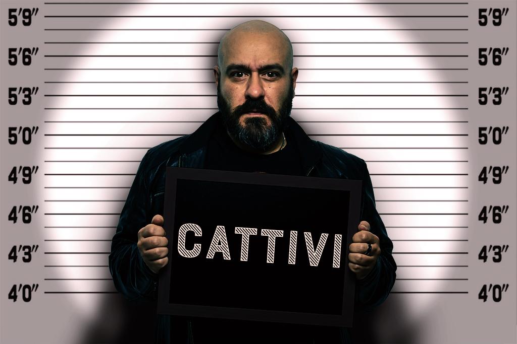 Cattivi - Locandina - Marco Champier - Graphic and Web Design