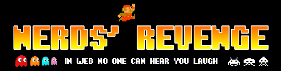 Retro Gaming - Header - Nerds' Revenge - Marco Champier - Graphic and Web Design