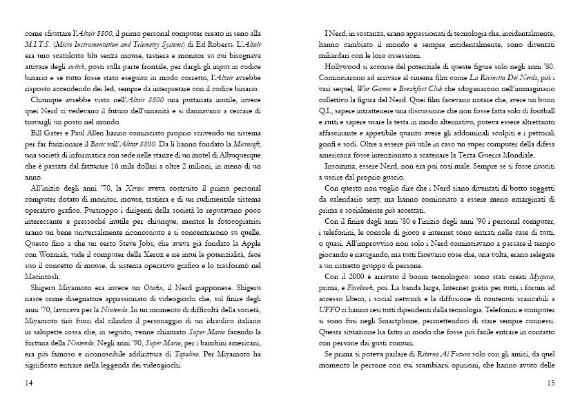 Storie di Vita da Nerd - Impaginazione - Impaginazione - Marco Champier