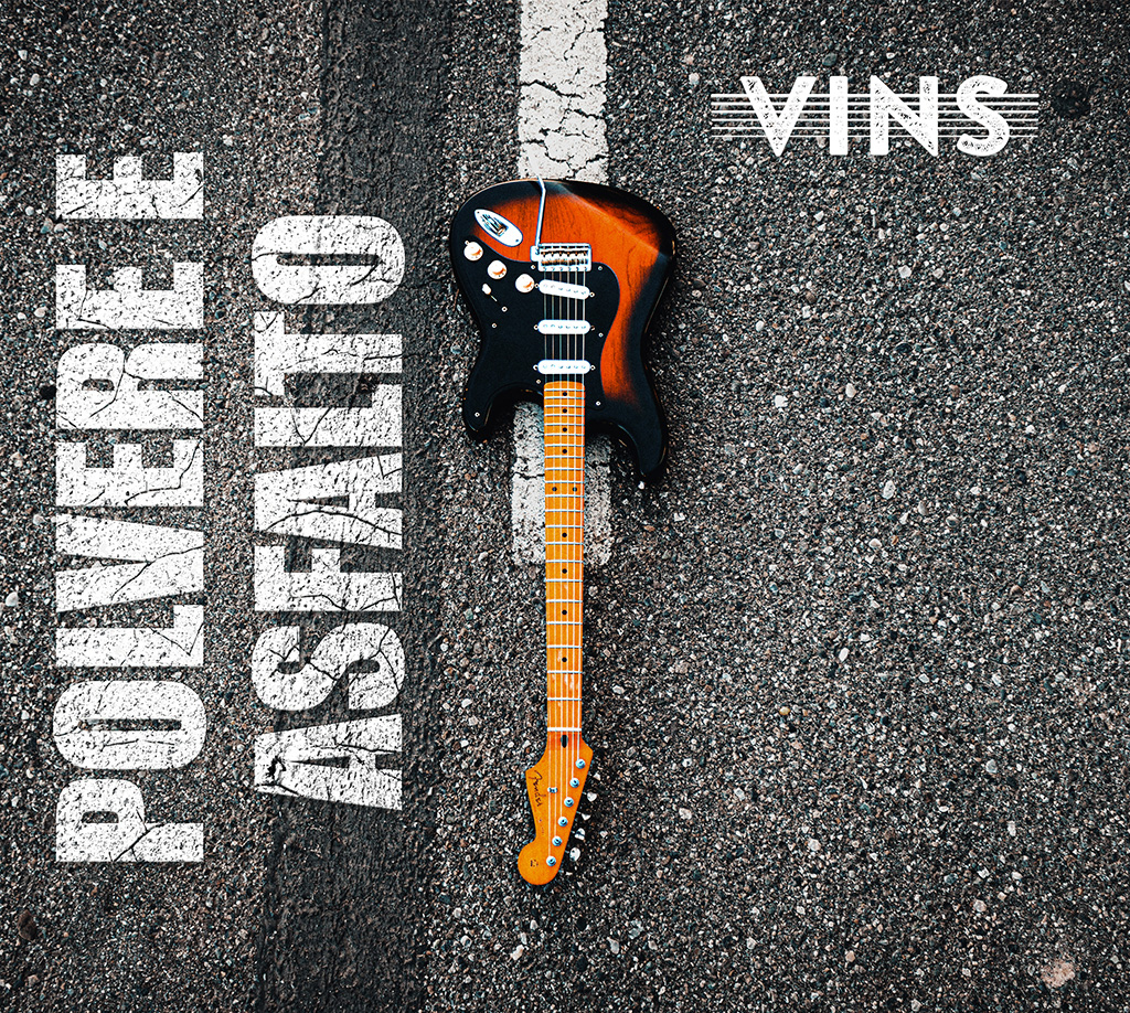 Polvere E Asfalto - Vins - Graphic Design Completo - Marco Champier - Graphic and Web Design