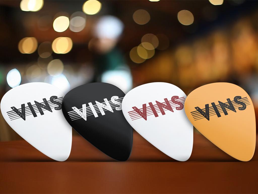 Vins - Logo Design - Marco Champier - Graphic and Web Design