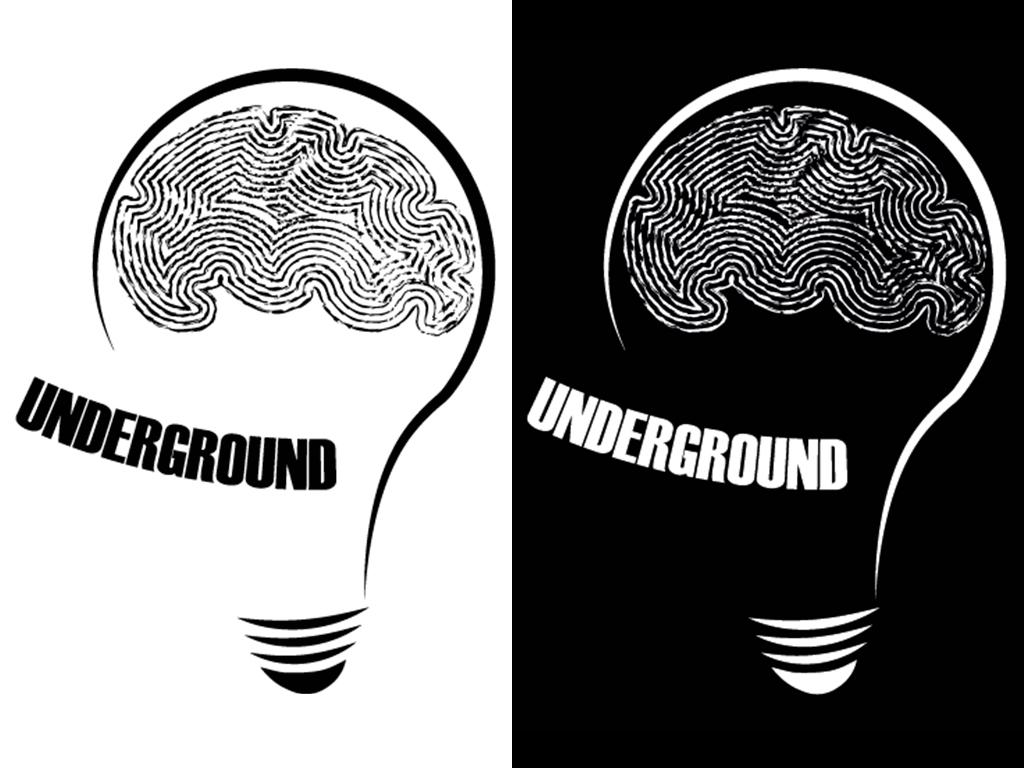 Edizioni Underground? – Logo Redesign – Marco Champier – Graphic and Web Design