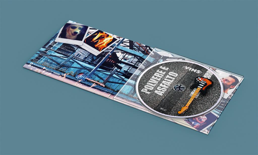 Polvere E Asfalto - Vins - Graphic Design Completo - Marco Champier - Graphic and Web Design