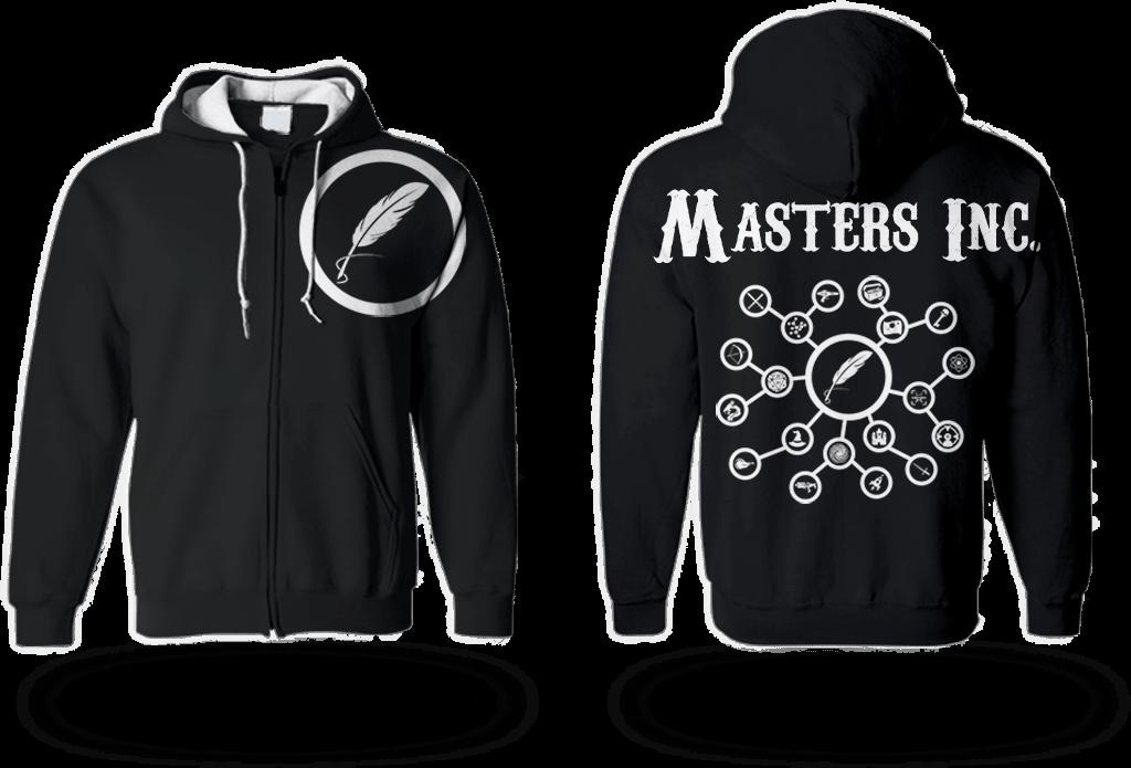 Masters Inc. Logo e T-Shirt Design - Marco Champier - Graphic and Web Design