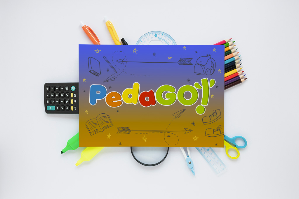 PedaGÒ! - Logo Design - Marco Champier - Graphic and Web Design